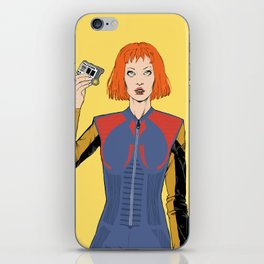 Leeloo in Louis iPhone Skin