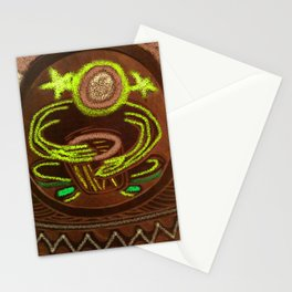 Shamanic Drummer - Healer Stationery Cards