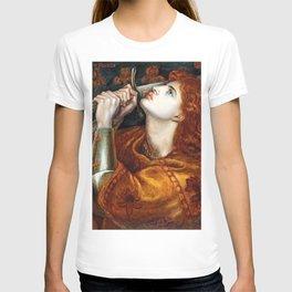 Dante Gabriel Rossetti Joan of Arc T-shirt