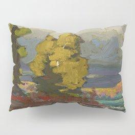 Tom Thomson Poplars by a Lake 1916 Canadian Landscape Artist Pillow Sham