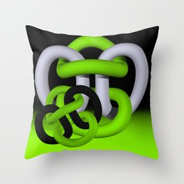 coherence -2- Throw Pillow