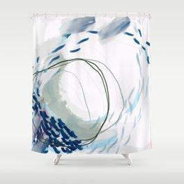 Inner Tides Shower Curtain