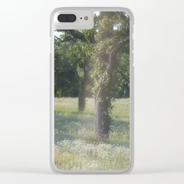 Summer Meadow VII Clear iPhone Case