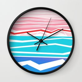SUMMER WAVE Wall Clock