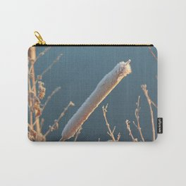 Frozen Bullrush Carry-All Pouch
