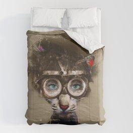 Steampunk Cat Comforters