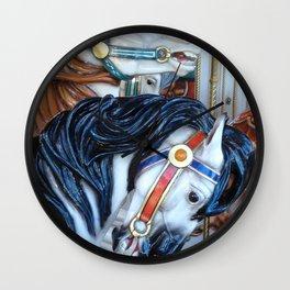Carousel Horses Carnival Merry Go Round Horses Wall Clock