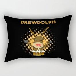 Beer Gift Christmas Rectangular Pillow