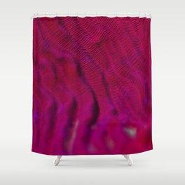 Proper pink fluorescence Shower Curtain