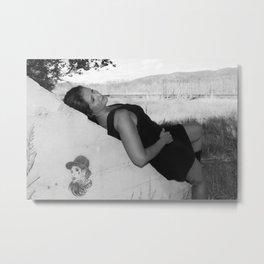 The Wall - Gail Gowen Metal Print