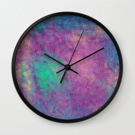 Mermaid pearl Wall Clock