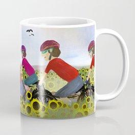 Les Poursuivants (Boys on Bikes in France) Coffee Mug