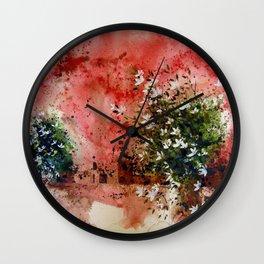 the three sisters Wall Clock