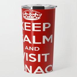 Keep Calm And Visit Monaco! Travel Mug