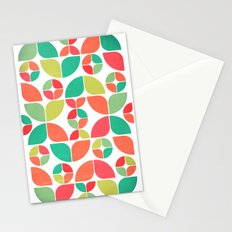 Vintage Summer Pattern Stationery Cards