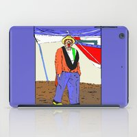 clown iPad Cases featuring clown by Karl-Heinz Lüpke