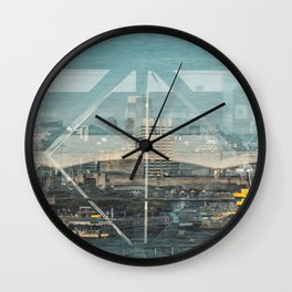 Layers of London 1 Wall Clock