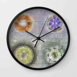Antonymies Fineness Flower  ID:16165-071103-38151 Wall Clock