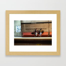 Vendome GIrls Framed Art Print