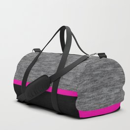 Athletic grey and pink Duffle Bag
