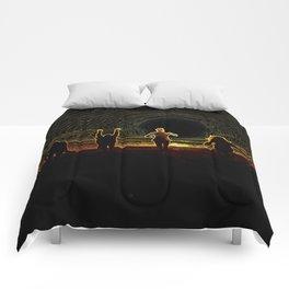 Figures in the Sun Comforters