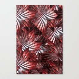 Red Wall (ID400) Canvas Print