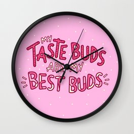 Taste Buds (V2) Wall Clock