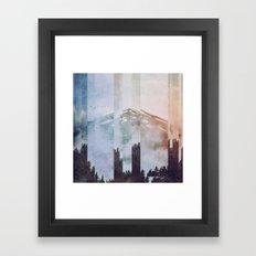 Fractions A38 Framed Art Print