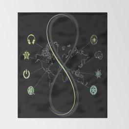 SENSE8 Logo Throw Blanket