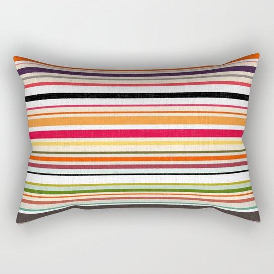apartment stripe Rectangular Pillow