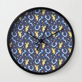Simplistic Dragons Wall Clock