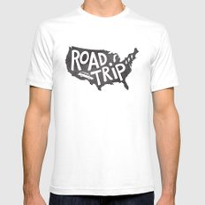 Road Trip USA - big sur Mens Fitted Tee 2X-LARGE White