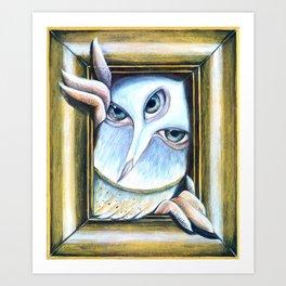 Owl | Night Predator  Art Print