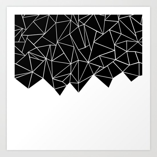 Ab Triangulation Art Print
