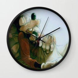 Goofy and Son Wall Clock