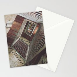 Twisting Staircase within Torre del Moro Stationery Cards