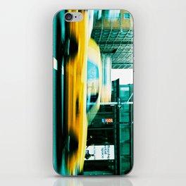 Taxi Blur iPhone Skin