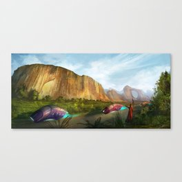 Zuma Rock Canvas Print