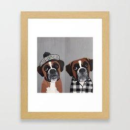 okie doke Framed Art Print