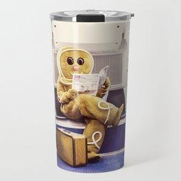 Gingerbread Man At Large Pt3 Travel Mug