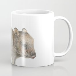 Javelina and Barrel Cactus Coffee Mug