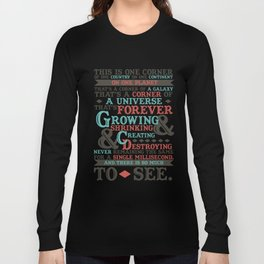 There Is So Much To See Long Sleeve T-shirt
