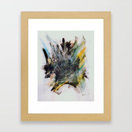 Woarrr - Paint splash Framed Art Print