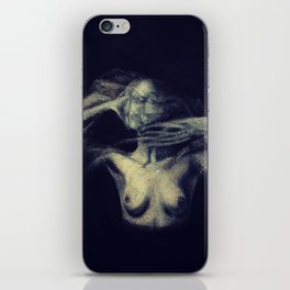 An Imprint (A Study of a Tortured Soul)  iPhone Skin