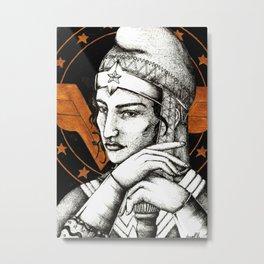 Cap of wonder Metal Print