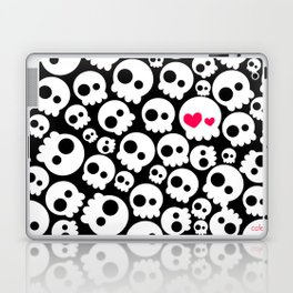 A skull in love Laptop & iPad Skin
