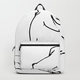 Nude drawing Backpack