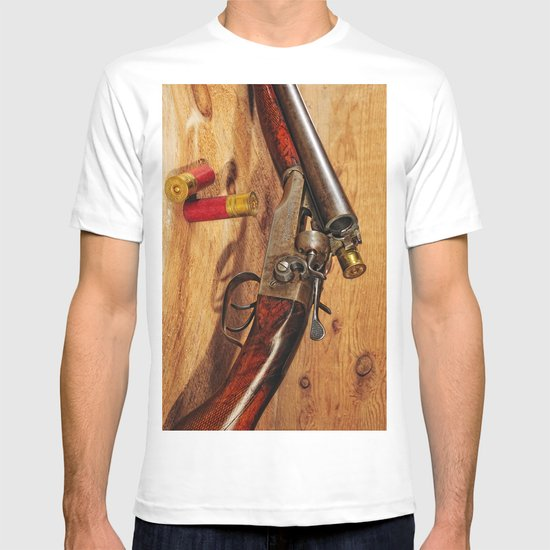 Old Double Barrel Stevens T-shirt