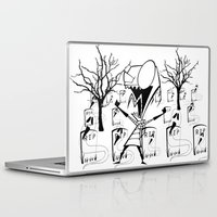 invader zim Laptop & iPad Skins featuring invader zim by LCMedia