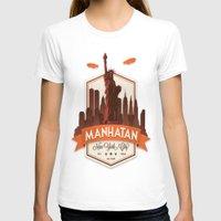fringe T-shirts featuring Fringe: Manhatan by stagyika